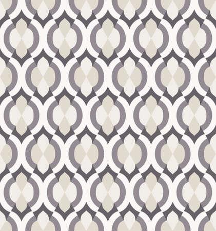 Patroon in Marokkaanse stijl. Naadloze geometrische achtergrond. EPS10 vector illustratie. Stock Illustratie