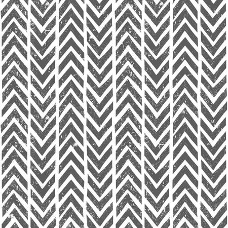 modes: Vector hand drawn tribal pattern. Seamless geometric background with grunge texture. EPS10 vector illustration. Contains no transparency and blending modes.