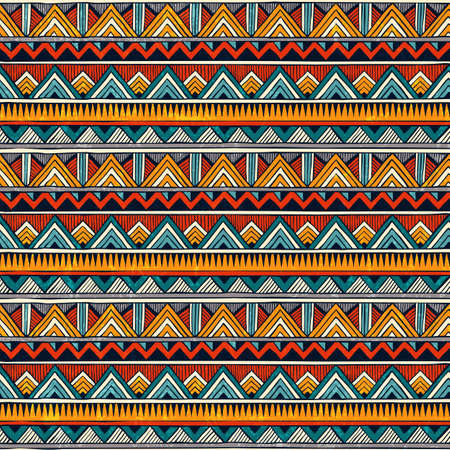 Tribal pattern. Stock Illustratie