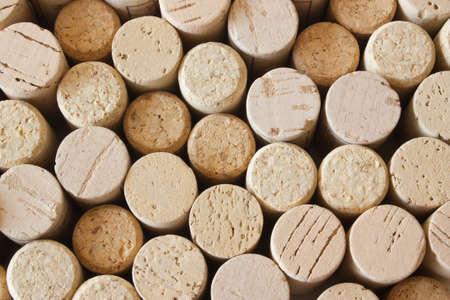 vino: Wine cork background Stock Photo