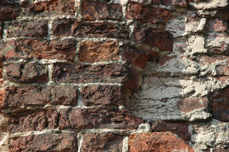 Wall from a brick. Abstract background photo