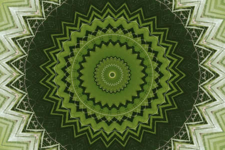 Geometrical green abstract decorative pattern Stock Photo - 4343826