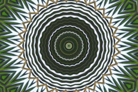 Geometrical green abstract decorative pattern Stock Photo - 4343814