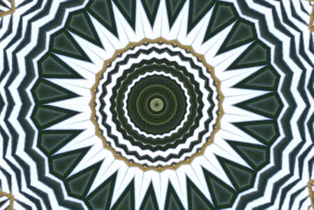 Geometrical green abstract decorative pattern Stock Photo - 4345761