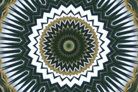 Geometrical green abstract decorative pattern Stock Photo - 4345762
