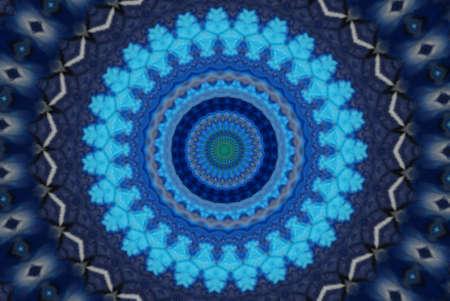 Dark blue ornament. Background Stock Photo