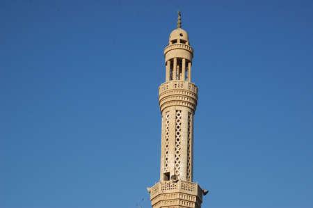 mohammedan: Mosque on a background blue sky, Khurgada, Egypt, Africa