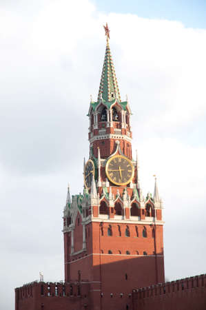 Kremlin Moscow clock tower (red square) Stock Photo - 4602683