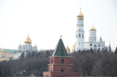 Kremlin exterior in the Moscow photo