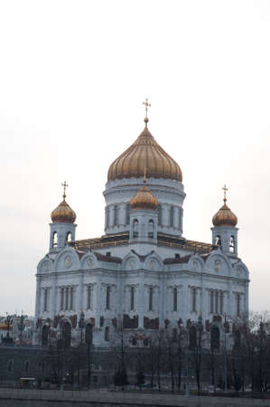 communists: Moscow. The temple �Christ � Savior�. The temple was destroyed by communists. The cathedral is restored after crash of a communism
