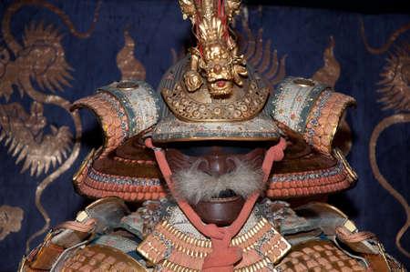 Historic samurai armor Stock Photo - 4893791