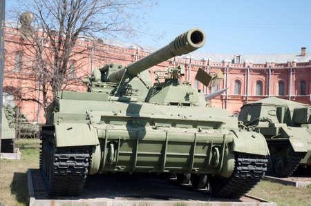 artillery shell: Artillery museum, St.Petersburg, Russia Stock Photo