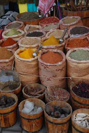 Shop of spices, Africa photo