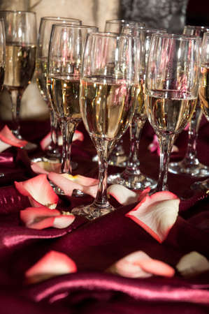 glasses with champagne Stock Photo - 5689453
