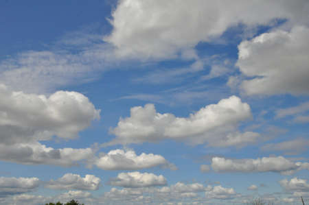 nimbi: Clouds in  blue sky