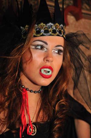 nosferatu: The girl in a suit of the vampire,