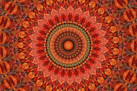 patterned: A bright sunny patterned background