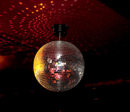 Disco ball. photo