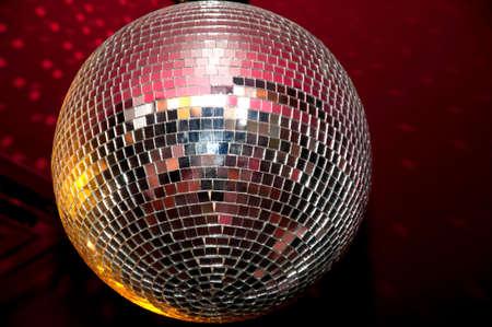 boogie: Disco ball. Stock Photo