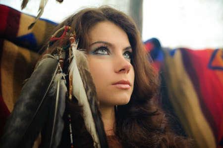 regalia: American Indian Woman