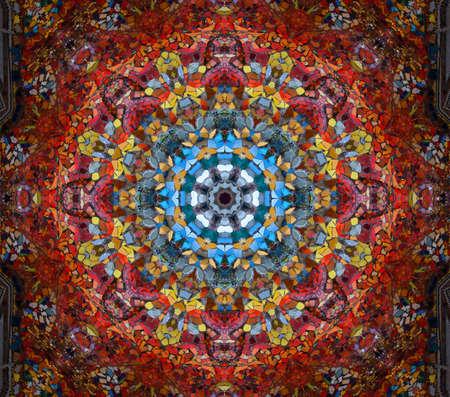 artistry: mosaic Stock Photo