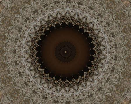 Brown ornament photo