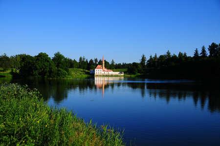 Priorat palace in Gatchina photo
