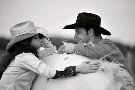 Love story in cowboys style