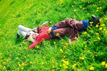 Love story in cowboy's style Lizenzfreie Bilder - 7642307
