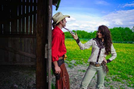 afecto: Historia de amor en estilo del vaquero