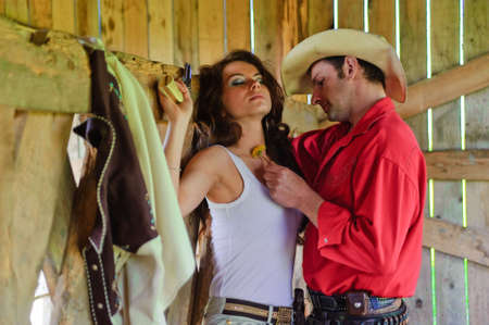 two story: Love story in cowboys style