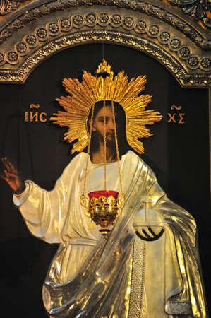 sanctity: Antiquariato vernice ortodossa chiamato icona