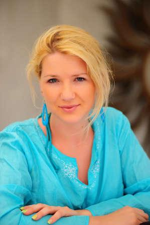 portrait of blonde Stock Photo - 8422538
