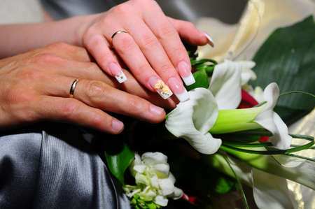 Wedding rings Stock Photo - 8181249