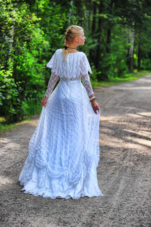 historical clothing: Young victorian lady