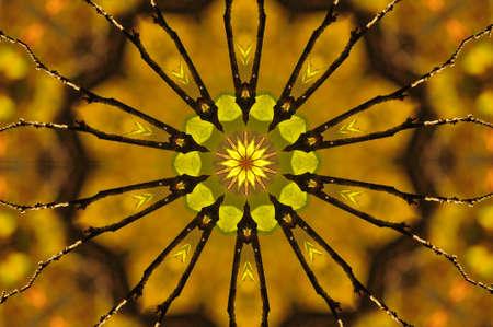 yellow ornament Stock Photo - 8410695