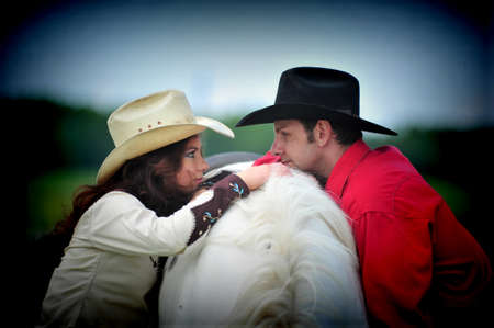 black cowgirl: Love story in cowboys style