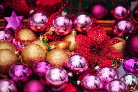 christmas baubles Stock Photo - 8690798