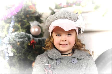 Vintage little girll  photo