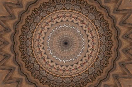 brown pattern photo