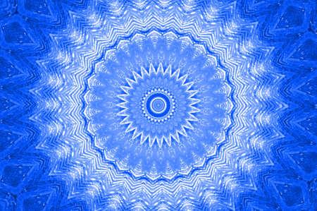 blue mandala photo
