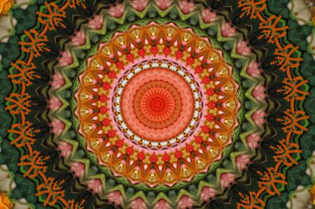 Colorful circular kaleidoscope Stock Photo - 8703925