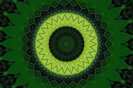 Green Kaleidoscope Stock Photo - 8699887