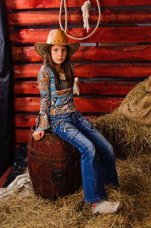 girl in the hayloft photo