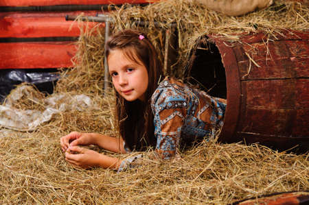hayloft: girl in the hayloft