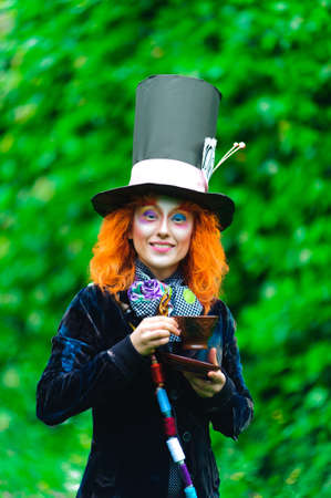 Mad Hatter, the tea party