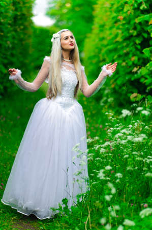 white queen Stock Photo - 9674900