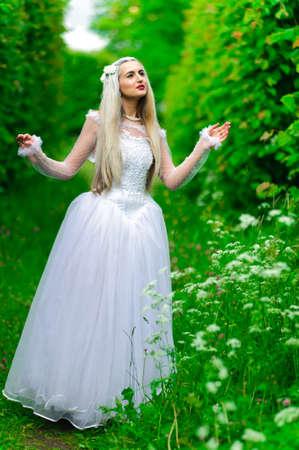 white queen Stock Photo - 9674900