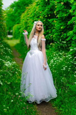 white queen Stock Photo - 9674941