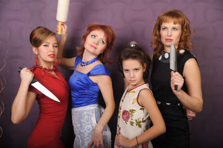 desperate housewives Stock Photo - 8939771